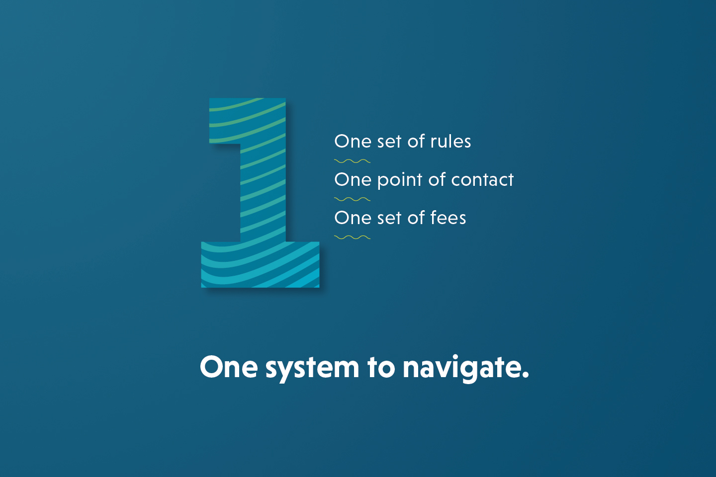 One system to navigate