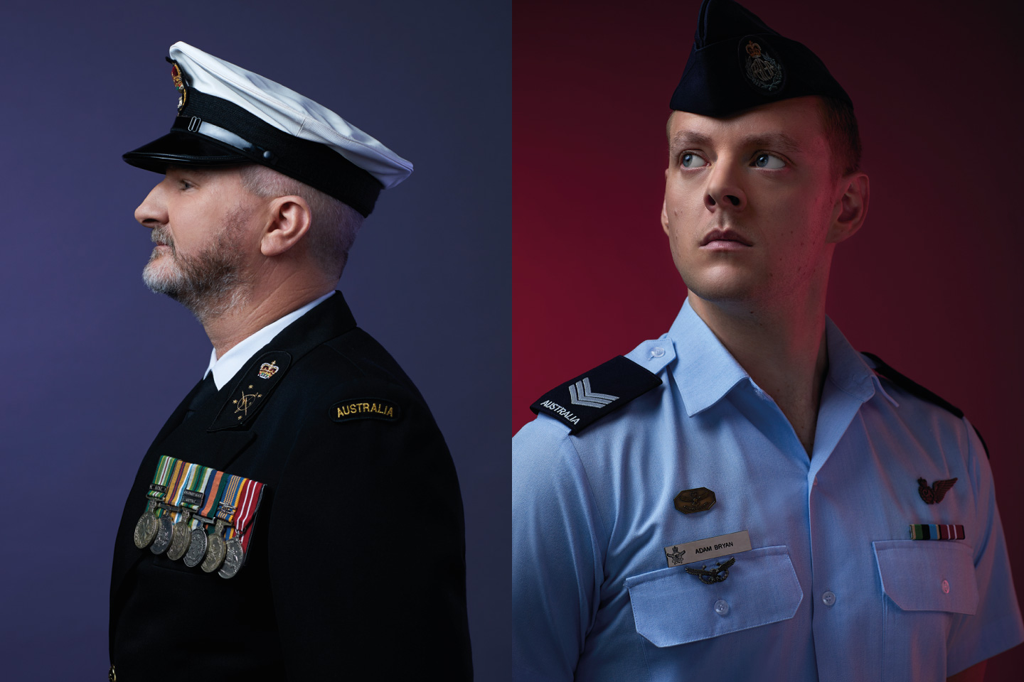 Photos of Australian service-members