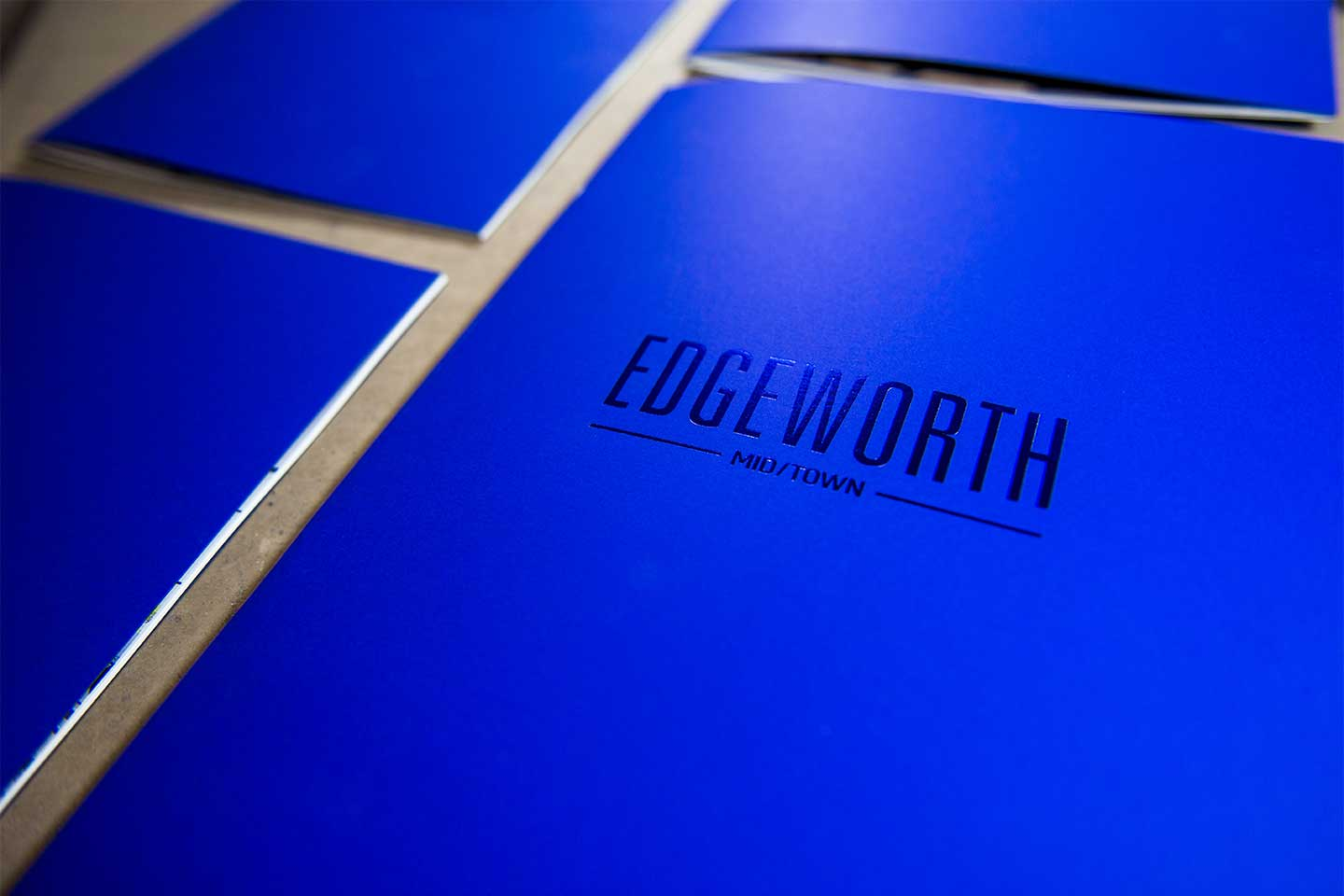 Edgeworth Brochure Cover