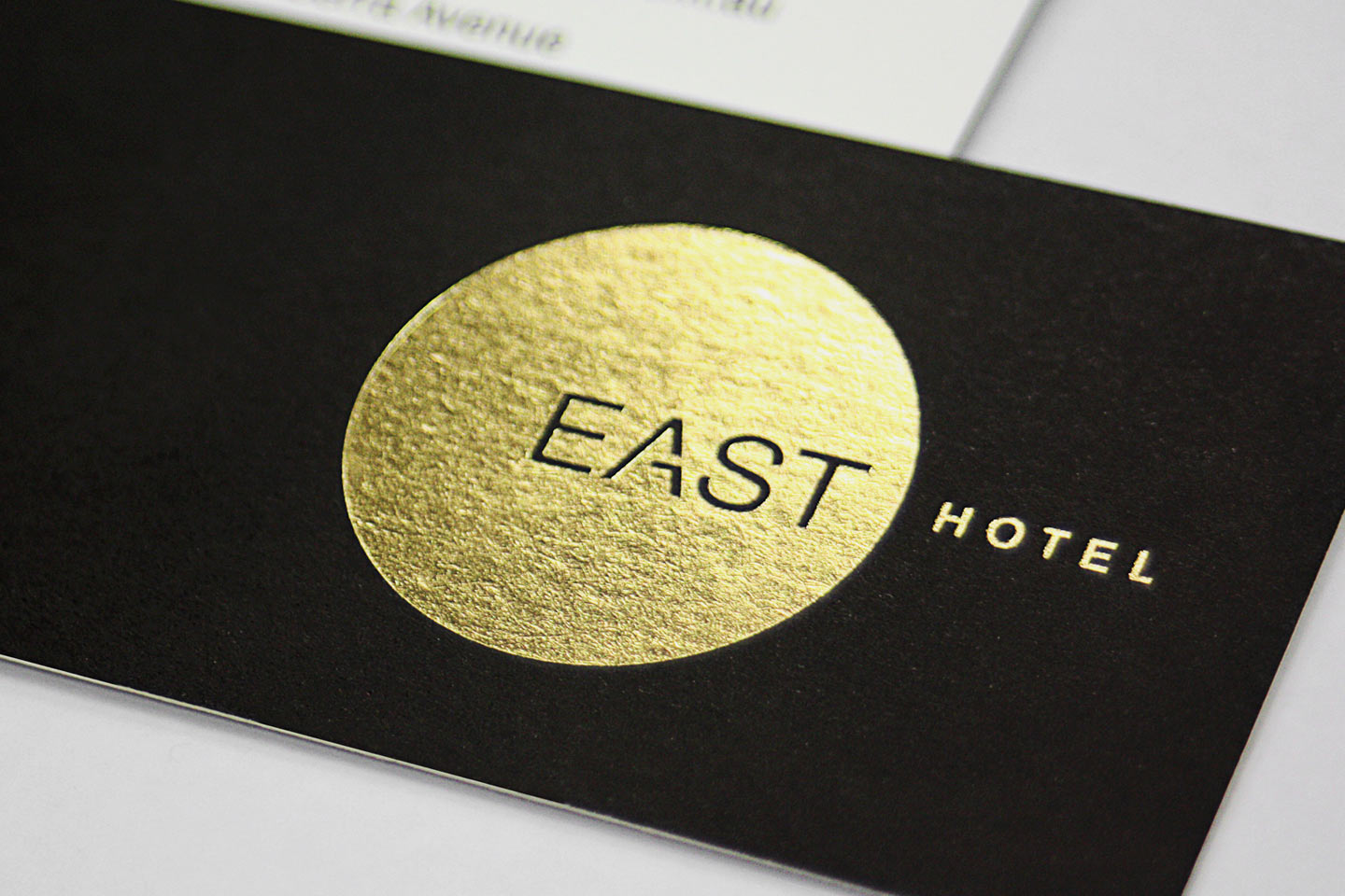 East Hotel Business Card