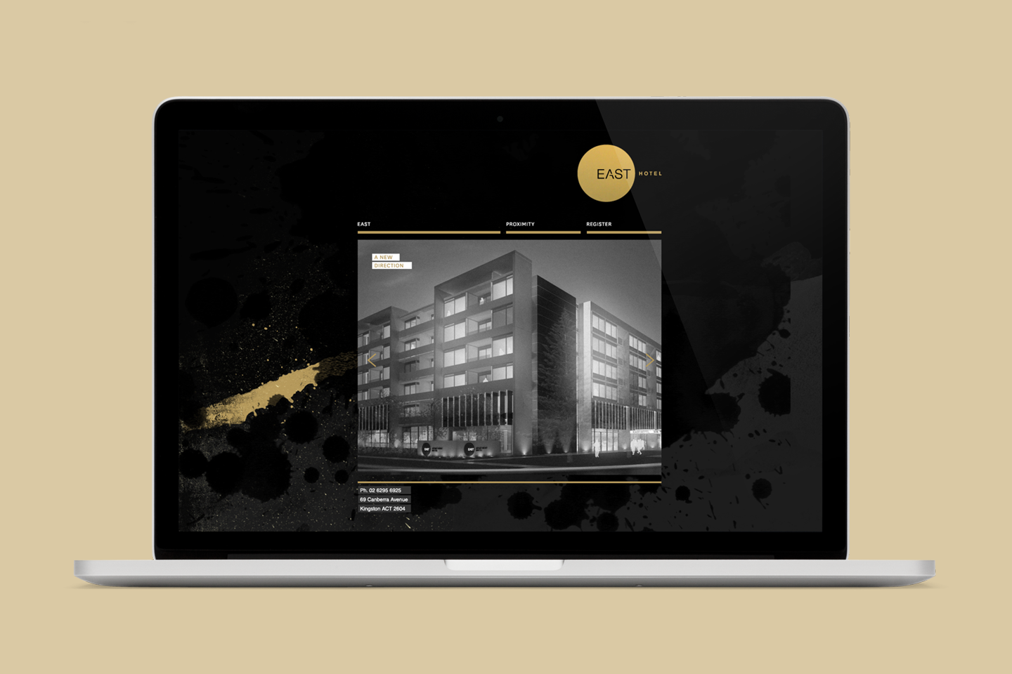 Eas hotel website
