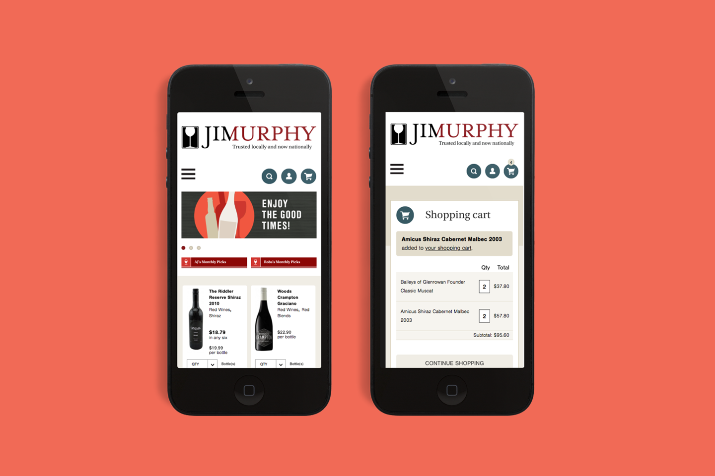 Jim murphy mobile responsive design